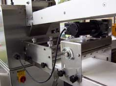 Optional cutting and rolling attachments