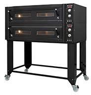 Fornitalia Black Line BL 125 2 deck pizza oven