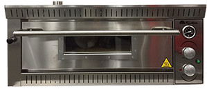 Fornitalia MG 70 / 70 single deck pizza oven.